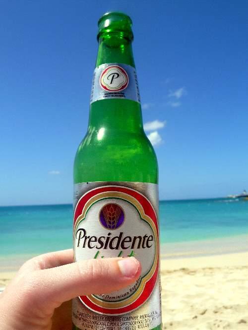 Bottle of Presidente