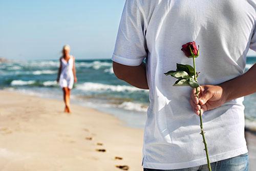 Dating divorced girl on beach