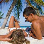 Guy enjoying an escort vacation in the Dominican Republic